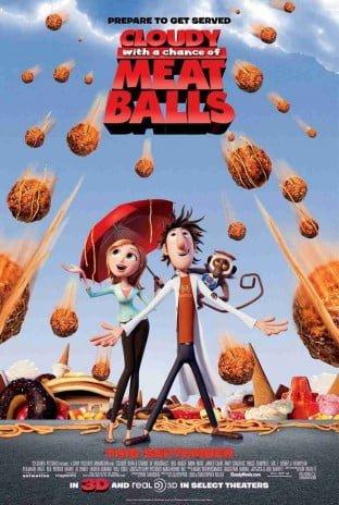 دانلود انیمیشن Cloudy with a Chance of Meatballs 2009