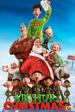 دانلود انیمیشن Arthur Christmas 2011