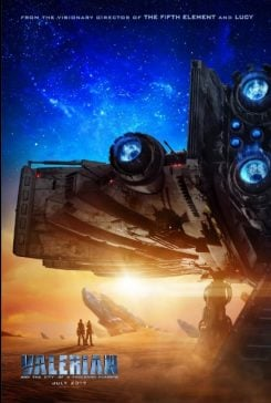 دانلود فیلم Valerian and the City of a Thousand Planets 2017