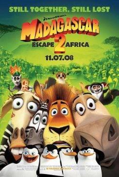 دانلود انیمیشن Madagascar Escape 2 Africa 2008