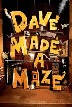 دانلود فیلم Dave Made a Maze 2017