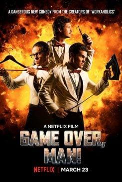 دانلود فیلم Game Over Man 2018