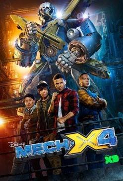 دانلود سریال Mech X4