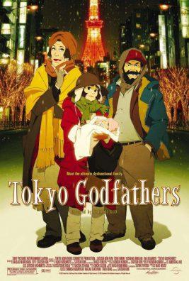 دانلود انیمیشن Tokyo Godfathers 2003